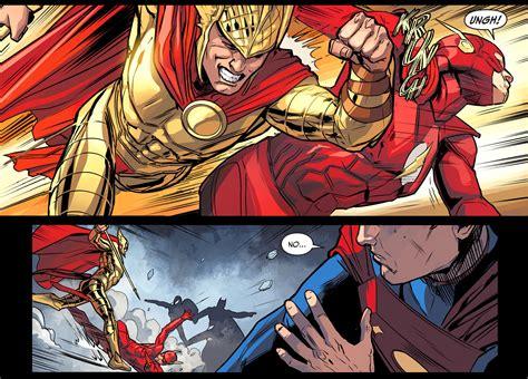 Underdog Speedster hermes takes out the flash injustice gods among us