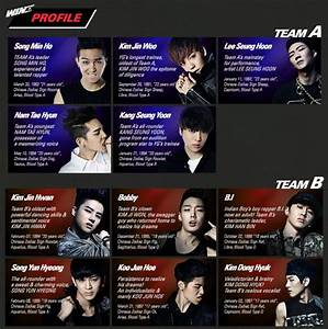 TEAM A & TEAM B Profiles - WINNER Photo (35731638) - Fanpop