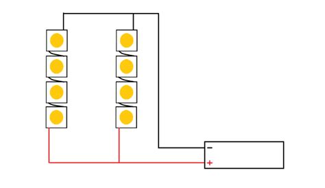 Wiring Leds Series Parallel Led Gardener