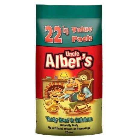 uncle albers dog food tasty beef chicken  kg  pack