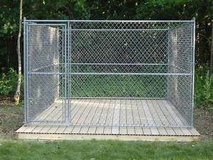 Cheap dog kennel flooring floor matttroy for Cheap dog pens for outside