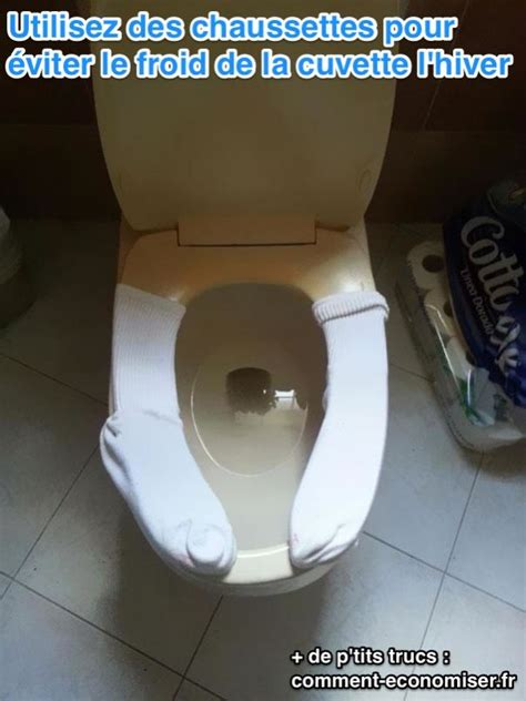une astuce pour la cuvette de toilettes que vos fesses