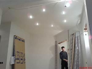 Renovation plafond dalle polystyrene à Grenoble Architecte
