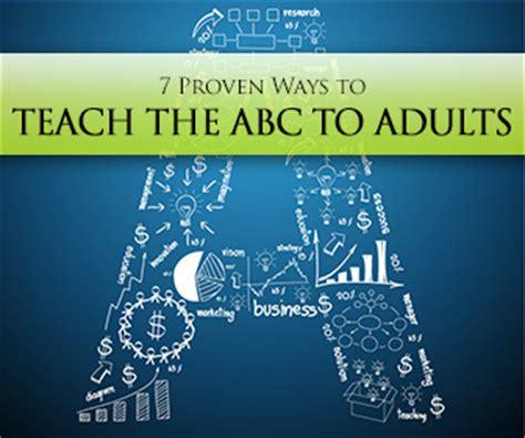 proven ways  teach  abc  adults