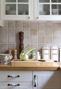 Kitchen Tile Backsplash Ideas With Cabinets by Pictures Of Kitchens Traditional White Kitchen