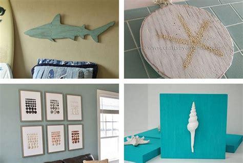 beach crafts coastal diy wall art