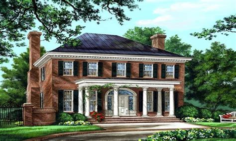 american colonial house plans southern colonial house