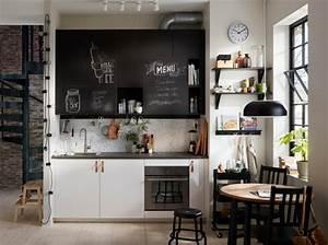 Meuble Cuisine Design : meuble cuisine ikea et id es de cuisines ikea grandes belles pratiques ~ Teatrodelosmanantiales.com Idées de Décoration