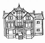 Mansion Sketch Template Templates sketch template