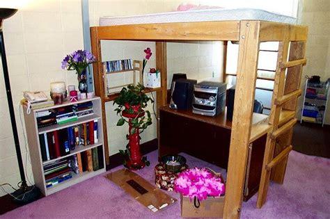 woodwork loft bed dorm plans  plans