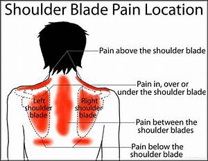 Shoulder blade pain common causes your friendly fashion for Best sleeping position for shoulder pain