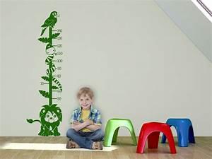 Wandtattoo Kinderzimmer Dschungel : wandtattoo messlatte dschungel von ~ Orissabook.com Haus und Dekorationen