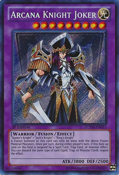 Arcana Deck Yugioh by Arcana Joker Yu Gi Oh It S Time To Duel