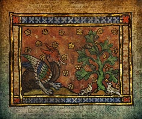 Ancient Dragon With Doves Celtic Art Digital Art by Terry ...