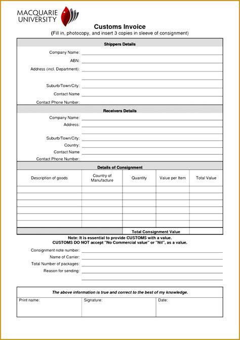 consignment bill  lading template fabtemplatez