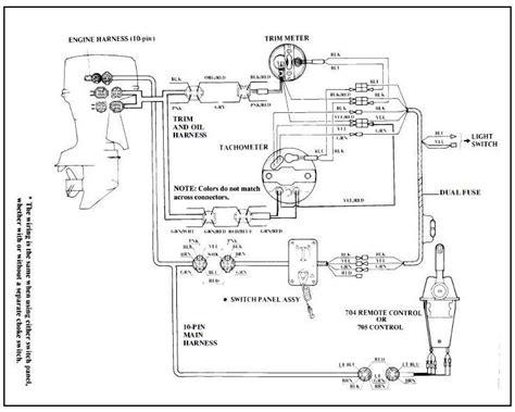 Mercury Gauge Wiring Diagram Free For You