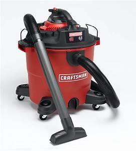 Craftsman 16 Gallon 6 5 Peak Hp Detachable Blower Wet  Dry