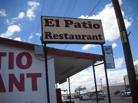 restaurant sign picture of el patio presidio tripadvisor