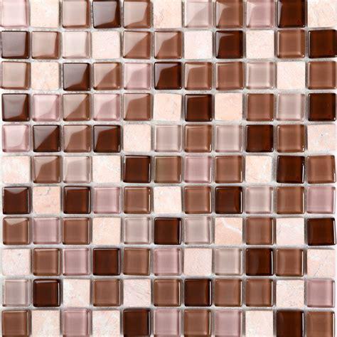 glass tile backsplash glass blend mosaic