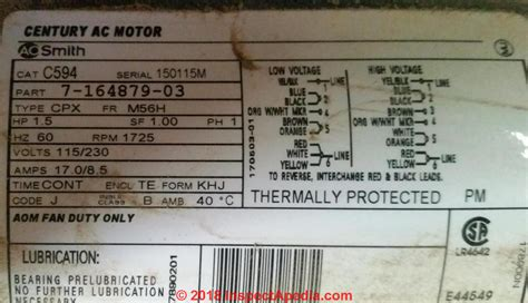 Ao Smith Ac Motor Wiring by Electric Motor Starting Capacitor Selection
