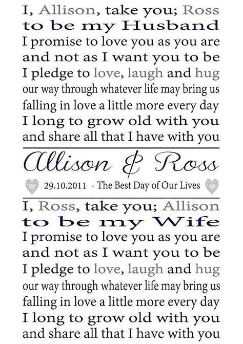 simple wedding vows ideas  pinterest husband