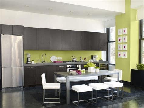 cuisine peinture verte peinture cuisine 40 idées de choix de couleurs modernes