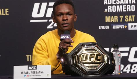Israel Adesanya commends NBA players for boycott after ...
