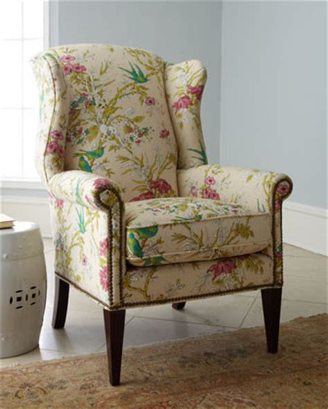 wing chair traditional armchairs and accent