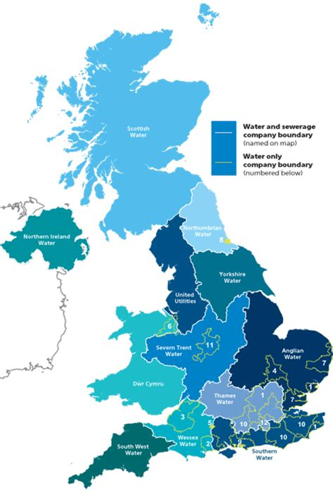Find Your Supplier  Water Uk