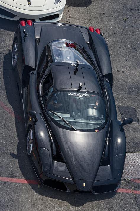 Four Ferrari LaFerraris and an Enzo at Sonoma Raceway ...