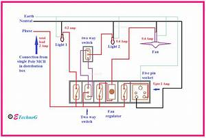 Home Wiring Mcb Connection