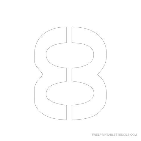 letter stencils printable printable  degree