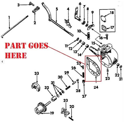 Farmall H Governor Diagram by New Governor Housing Gasket For Ih Farmall A B Bn C
