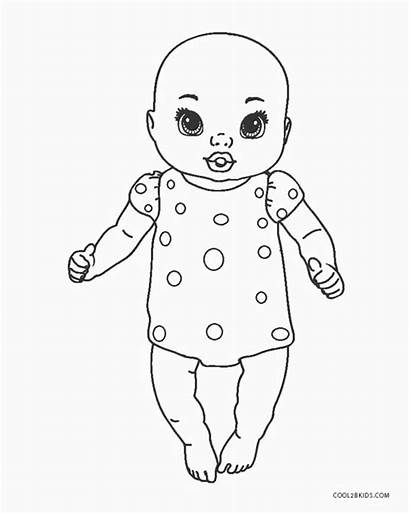 Coloring Pages Dolls Printable
