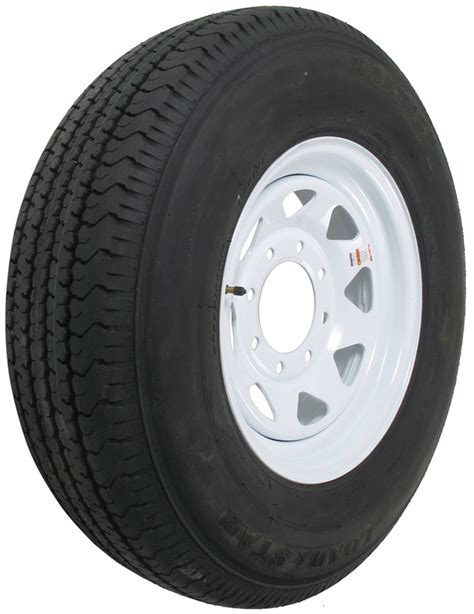 """Karrier St23580r16 Radial Trailer Tire With 16"""" White"""