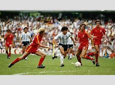 Maradona Belgium 86 Goalcom