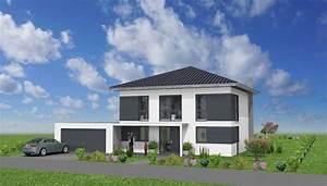 Stadtvilla Mit Garage : stadtvilla mit garage in 36404 vacha massivhausbau made ~ A.2002-acura-tl-radio.info Haus und Dekorationen
