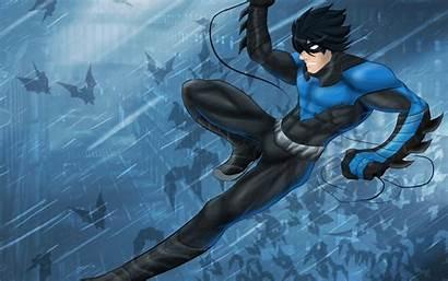 Nightwing 4k Artwork Wallpapers Resolution Superheroes Deviantart