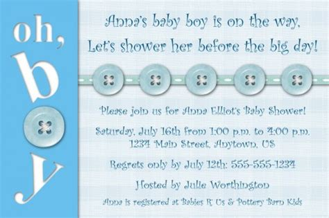 Baby Shower Wording Ideas For A Boy - baby boy shower invitations wording free printable baby