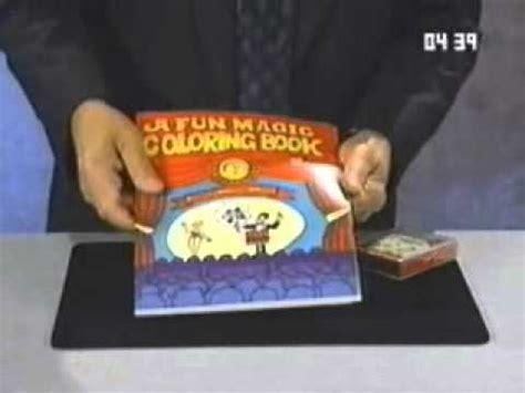 magic coloring book  vanishing crayons magic trick