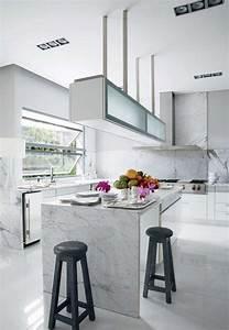Plan De Travail Cuisine Marbre : plan de travail en marbre comment en d corer sa cuisine ~ Melissatoandfro.com Idées de Décoration