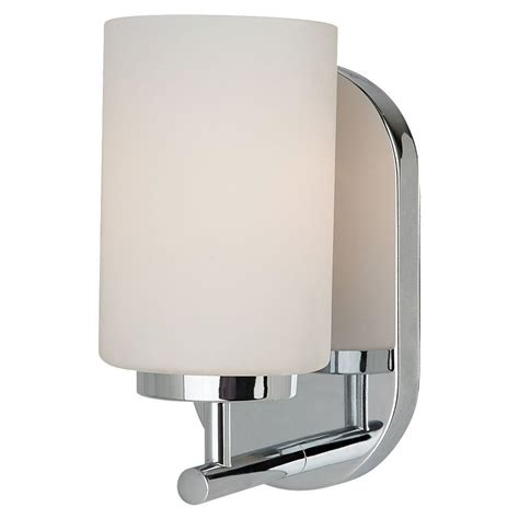 Bathroom Sconces Chrome by Sea Gull Lighting Oslo 1 Light Chrome Sconce 41160 05