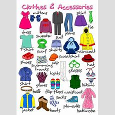 Clothes And Accessories  Poster Worksheet  Free Esl Printable Worksheets Made By Teachers