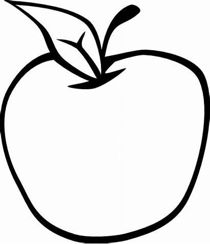 Apple Empty Clip Clipart Clker Vector Cliparts