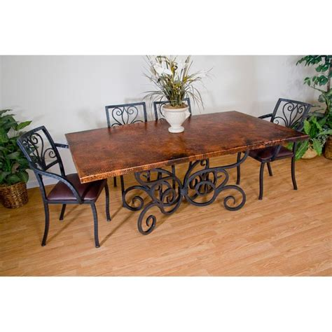 wood dining chairs with wrought iron dining table and arm chairs by