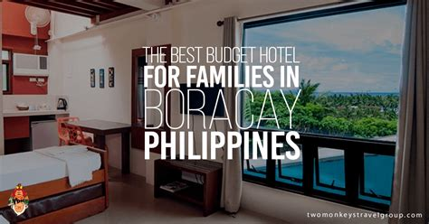 budget hotel  families  boracay philippines