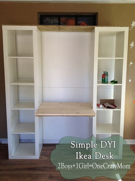 ikea wall desk unit create your own desk with ikea expedite and some personal