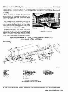John Deere 7000  U0026 7100 Planters Tm1154 Technical Manual