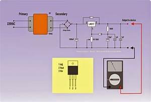 9 Volt Dc Power Supply Using Lm317 Regulator