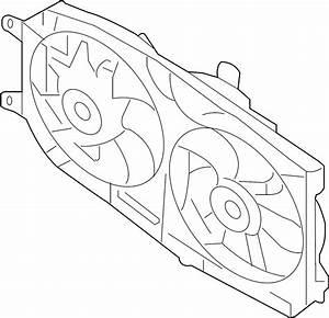 Mercury Montego Engine Cooling Fan Assembly  Radiator